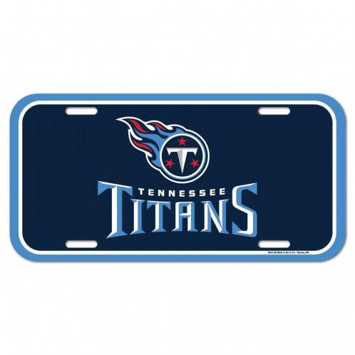 Tennessee Titans Plastic License Plate