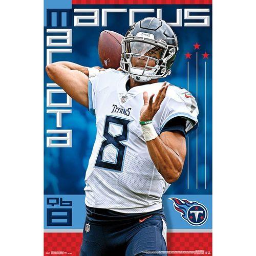 Tennessee Titans 2018 Marcus Mariota Poster