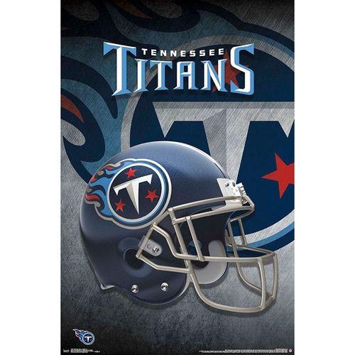 Tennessee Titans 2018 Helmet Poster