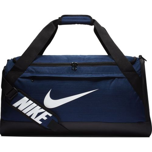Nike Brasilia Medium Training Duffel Bag (Midnight Navy)