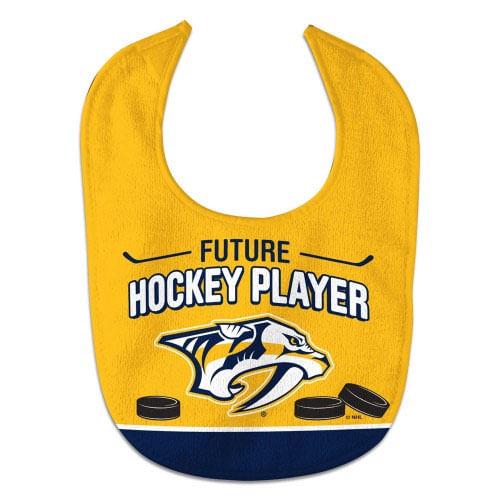 Nashville Predators Future Hockey Player Baby Bib