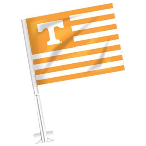 Tennessee Volunteers Car Flag Orange Stripes