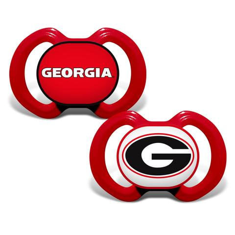 Georgia Bulldogs 2-Pack Pacifiers