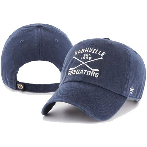 '47 Brand Nashville Predators Axis Clean Up Adjustable Hat (Navy)