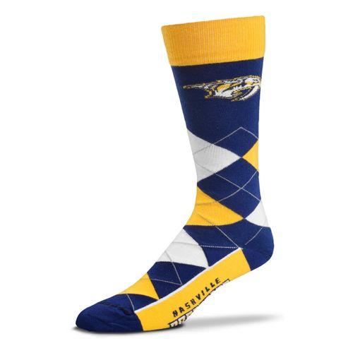Nashville Predators Argyle Sock