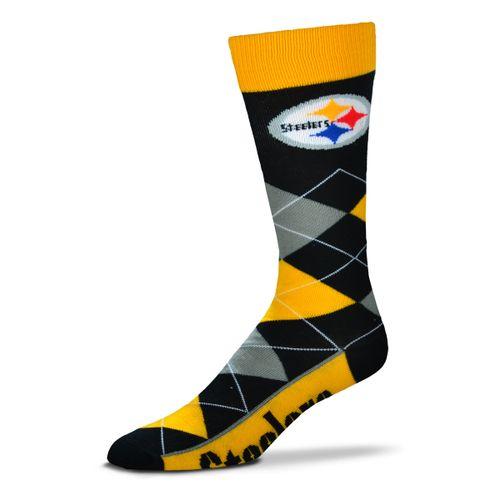 Pittsburgh Steelers Argyle Sock