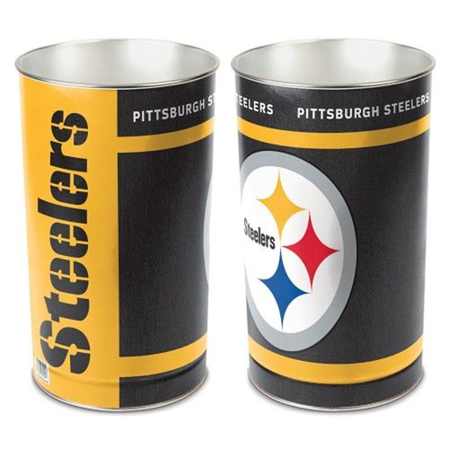 Pittsburgh Steelers Tapered Trashcan