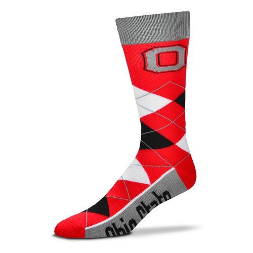 Ohio State Buckeyes Argyle Sock
