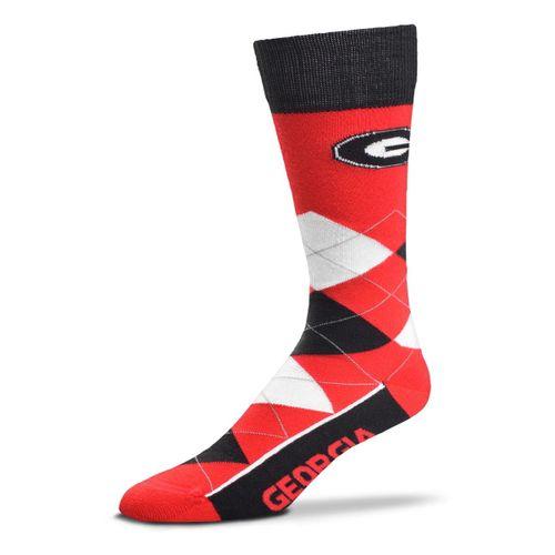 Georgia Bulldogs Argyle Sock