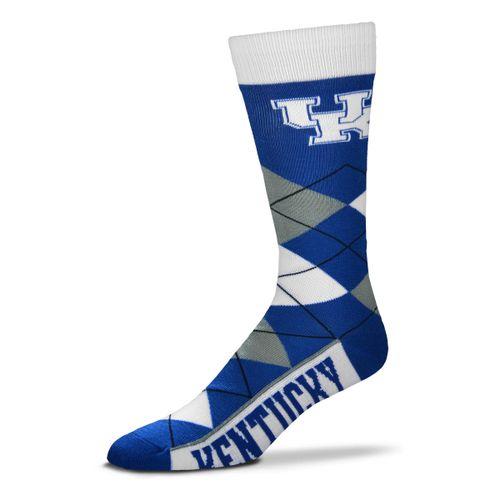 Kentucky Wildcats Argyle Sock