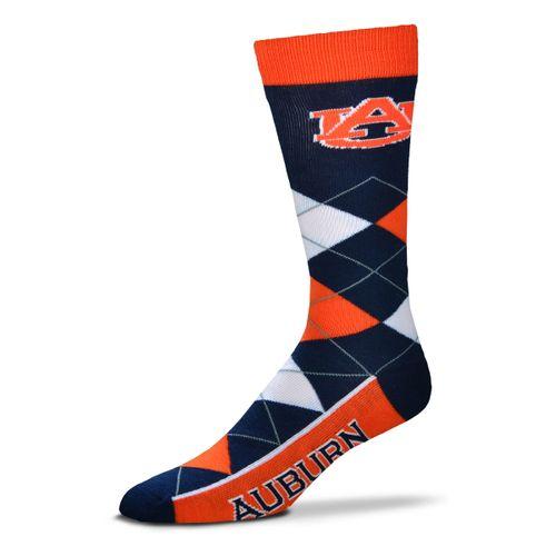 Auburn Tigers Argyle Sock