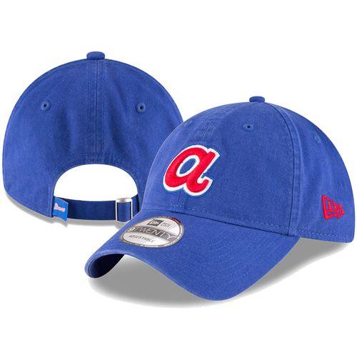 New Era Atlanta Braves Core Classic Adjustable Hat (Royal)