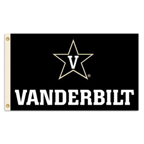 Vanderbilt Commodores 3X5 Logo Flag