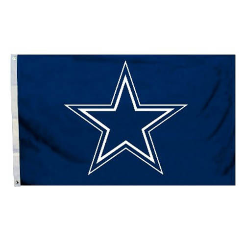 Dallas Cowboys Logo Flag