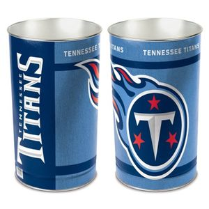 Tennessee Titans Tapered Trashcan