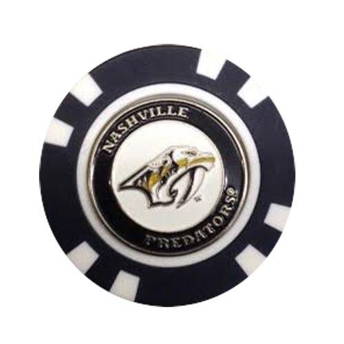 Nashville Predators Golf Poker Chip Marker