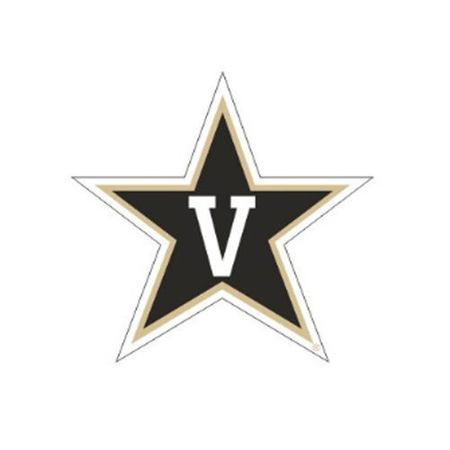 Vanderbilt Commodores Star Reflective Decal