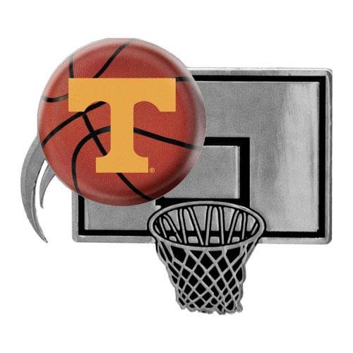 Tennessee Volunteers Basketball Metal Auto Emblem