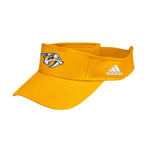 adidas Nashville Predators Logo Adjustable Visor (Gold)