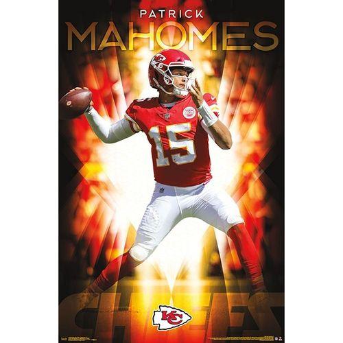 Kanas City Chiefs Patrick Mahomes Poster
