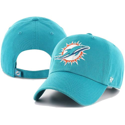 '47 Brand Miami Dolphins Clean Up Adjustable Hat (Neptune Green)