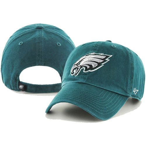 '47 Brand Philadelphia Eagles Clean Up Adjustable Hat (Pacific Green)