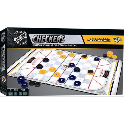 Nashville Predators Checkers Game
