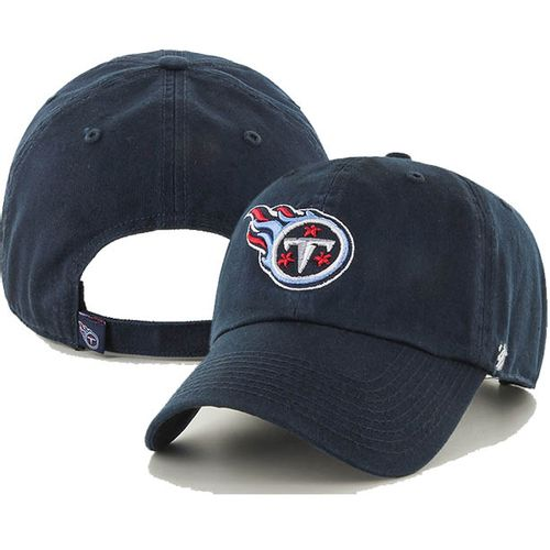'47 Brand Tennessee Titans Clean Up Adjustable Hat (Navy)