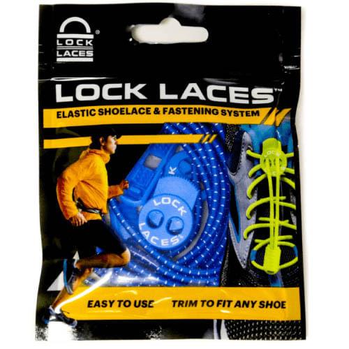 Lock Laces No Tie Shoelaces (Royal)