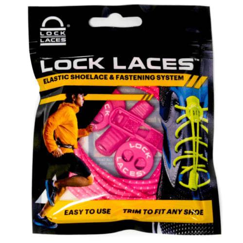 Lock Laces No Tie Shoelaces (Hot Pink)
