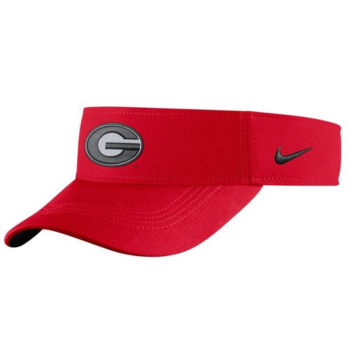 Nike Georgia Bulldogs Dri-FIT Adjustable Visor (Red)