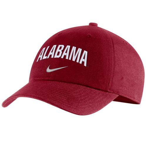 Nike Alabama Crimson Tide Heritage86 Arch Adjustable Hat (Crimson)