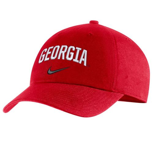 Nike Georgia Bulldogs Heritage86 Arch Adjustable Hat (Red)