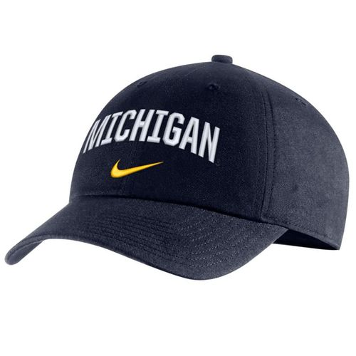 Nike Michigan Wolverines Herigitage86 Arch Adjustable Hat (Navy)