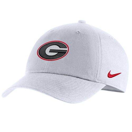 Nike Georgia Bulldogs Heritage86 Adjustable Hat (White)