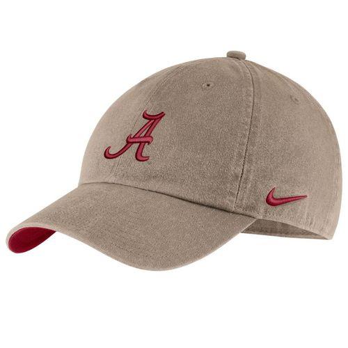 Nike Alabama Crimson Tide Heritage86 Adjustable Hat (Khaki)