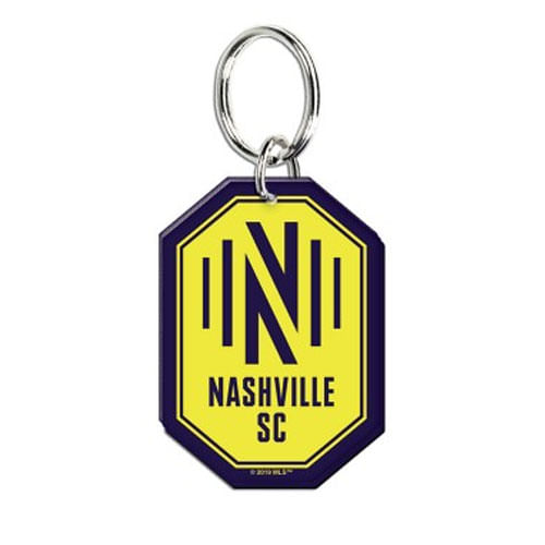 Nashville Soccer Club Logo Acrylic Keyring