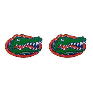 Florida Gators 2-pack Reflective Gator Head Stickers