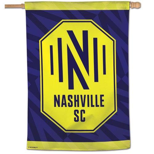 Nashville Soccer Club Vertical Flag (Navy)
