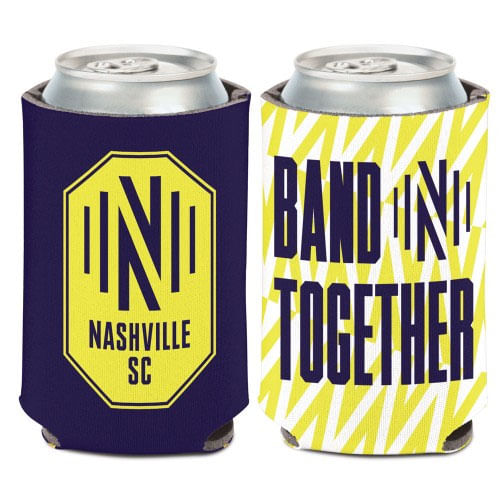 Nashville Soccer Club Double Sided Can Cooler