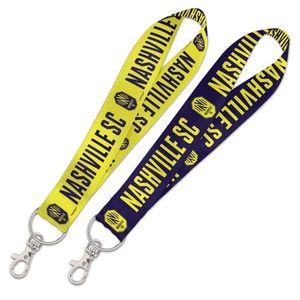 Nashville Soccer Club Lanyard Key Strap