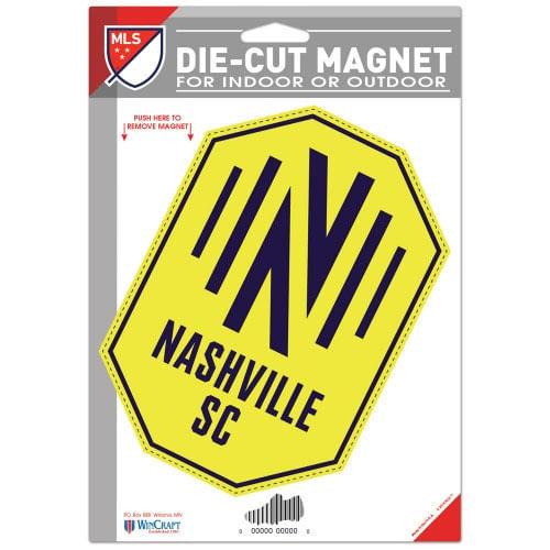 Nashville Soccer Club Die Cut Logo Magnet