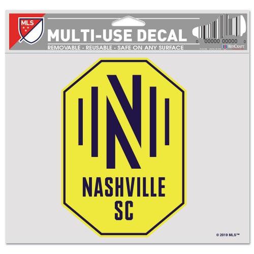 Nashville Soccer Club Multiple Use Decal