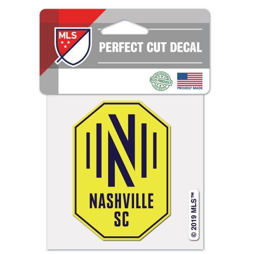 Nashville Soccer Club Perfect Color Cut Decal