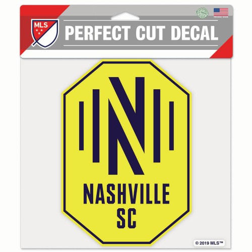 "Nashville Soccer Club 8"" Perfect Color Cut Decal"