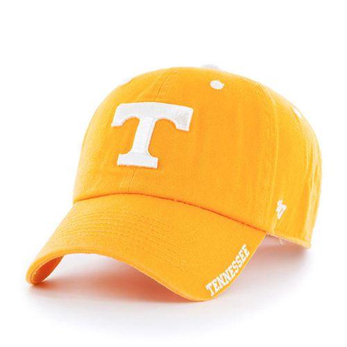 '47 Brand Tennessee Volunteers Ice Clean Up Adjustable Hat (Orange)