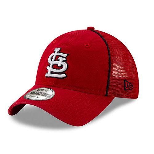 New Era St. Louis Cardinals Trimmed 920 Adjustable Hat (Red)