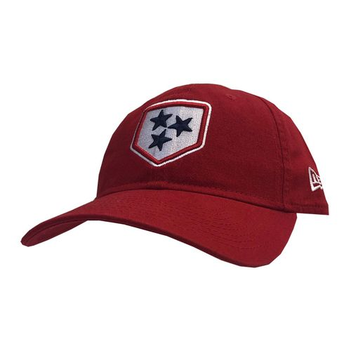 New Era Nashville Sounds Alternate Logo Adjustable Hat (Scarlet)