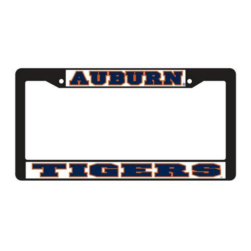 Auburn Tigers Plastic License Plate Frame