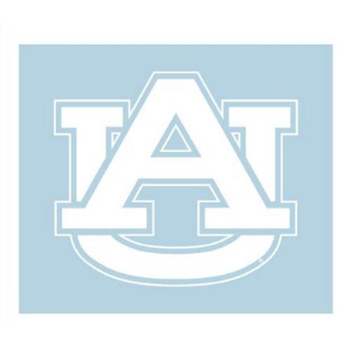"Auburn Tigers ""AU"" Decal (White)"